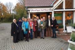 Frauen mit vielen Herkunftskulturen gemeinsam – unterwegs zur Turner-Ausstellung und zu den Werkstätten in Karthaus/Münsterland