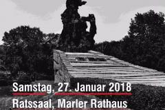"""""""Gedenken an die Opfer des Nationalsozialismus"""" -Marl im Rathaus am 27.1.2018"""