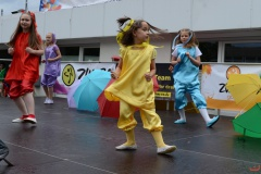 Raduga-Tanzaktivitäten auch beim Stadtteilfest in Marl-Hüls-Süd
