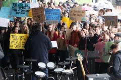 Schüler protestieren gegen Klimapolitik 15.3.19