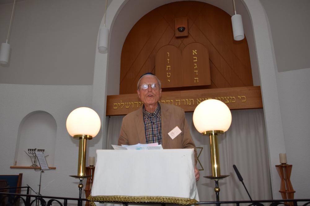Synagoge in Recklinghausen empfängt am 12. September Torarolle